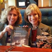 Dana Loewy and Mary Ellen Guffey at 2014 ABC Convention